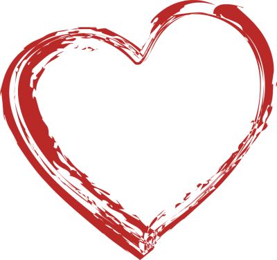 400x376 Heart Shaped Clipart Heart Outline
