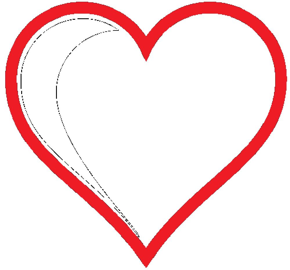 999x930 Love Heart Clipart
