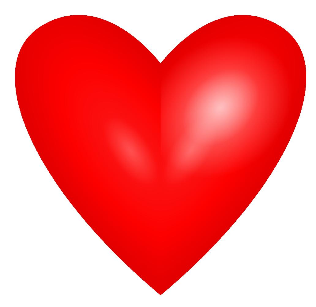 1032x1000 Love Hearts Clipart