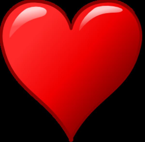 600x584 Valentine Heart Clipart