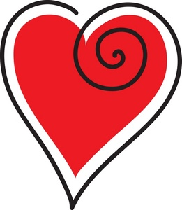 261x300 Heart Clipart Free Use