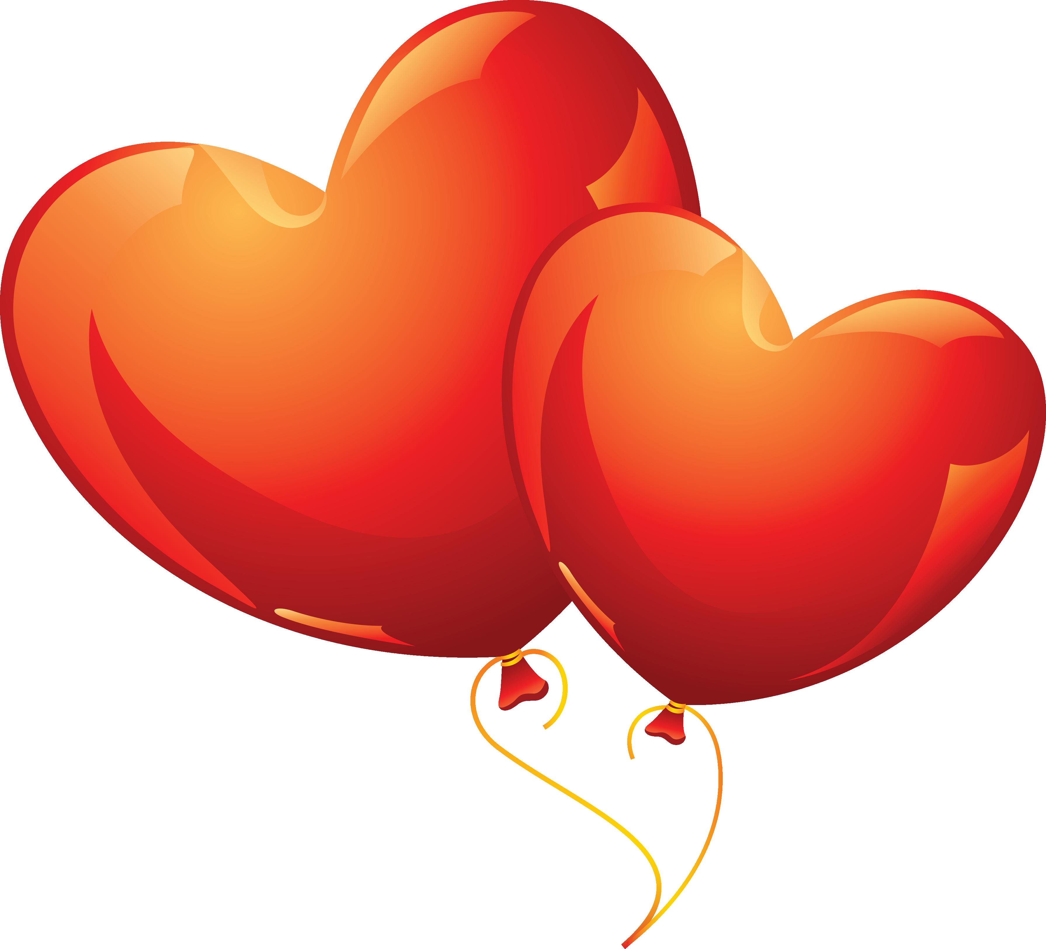 3582x3248 Balloon Clipart Love Heart