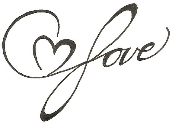 570x411 Drawn Love Love Heart