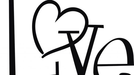 570x320 Love Heart Drawings Love Heart Line Drawing Clipart Best