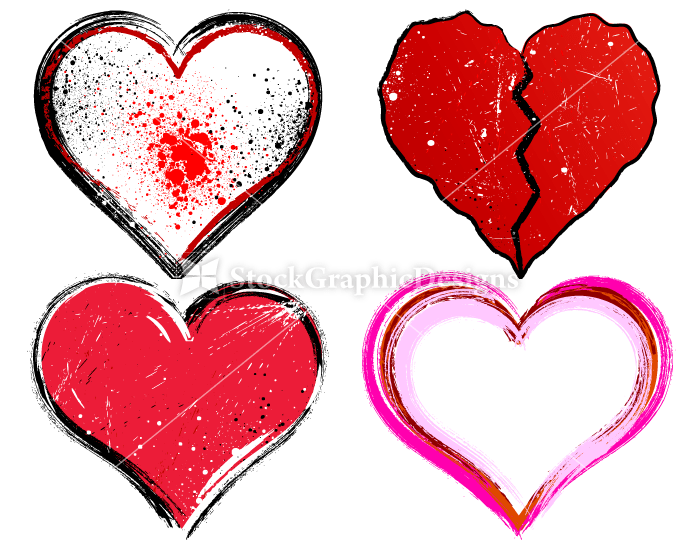 700x550 Heart Designs Vector Amp Photoshop Brushes Stock Graphic Designs