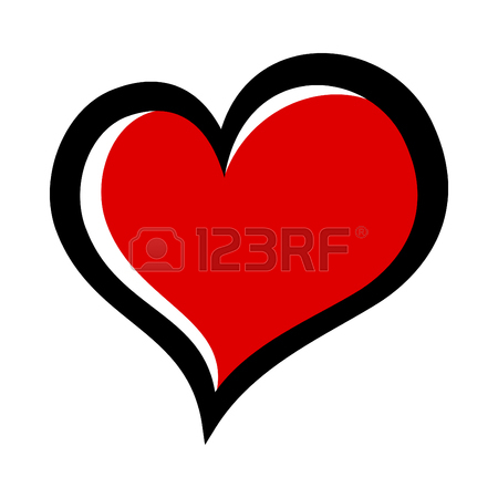 450x450 Heart Vector Icon Royalty Free Cliparts, Vectors, And Stock