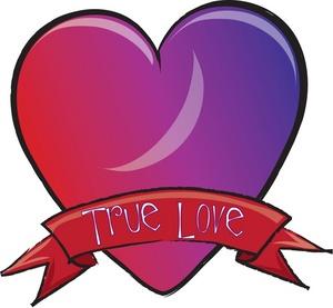 300x277 True Love Clipart Image