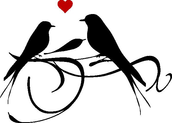 600x429 Vector Clipart Love