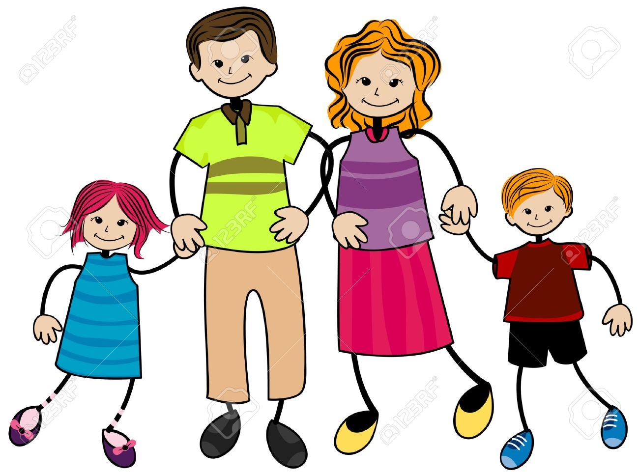 1300x967 Family Cliparts