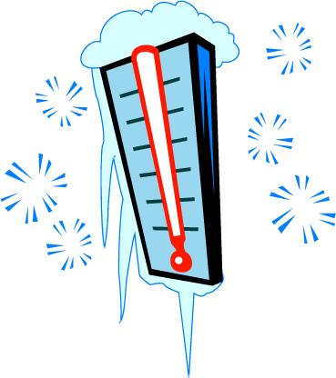 369x416 Low Temperature Clipart