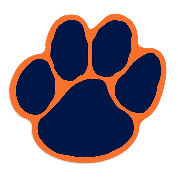600x600 Download Auburn Tiger Paw Clipart Belle Haven Elementary School