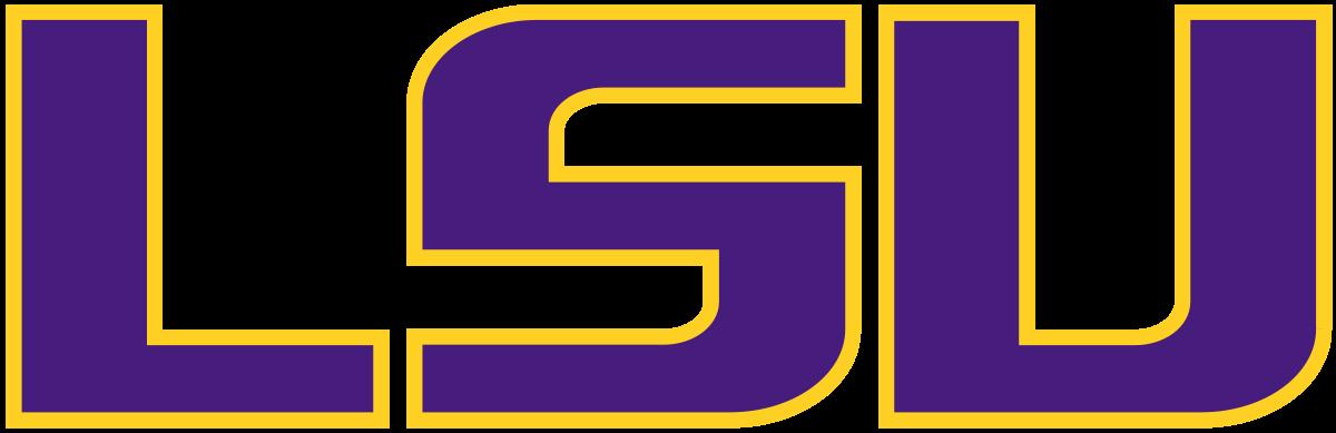 1200x389 Logo Clipart Lsu Football