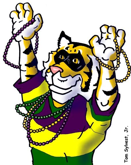 456x576 Mardi Gras Mike The Tiger Lsu Mascot