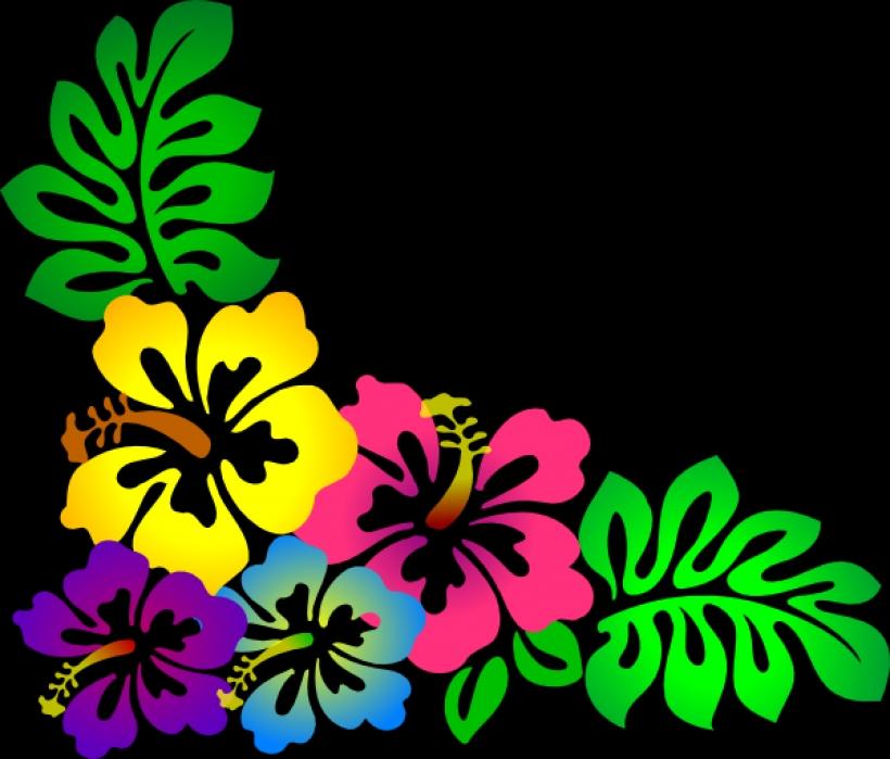 820x699 Luau Clip Art Borders Free Free Clipart Images Clipartixbest Png