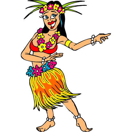 500x500 Hawaiian Clip Art Free Many Interesting Cliparts