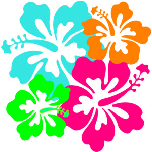300x300 Aloha Clip Art Shop Accessories Hibiscus Clip Art Clker Com