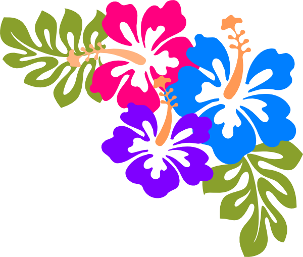 600x509 Hawaiian Luau Word Clipart Clipart Kid