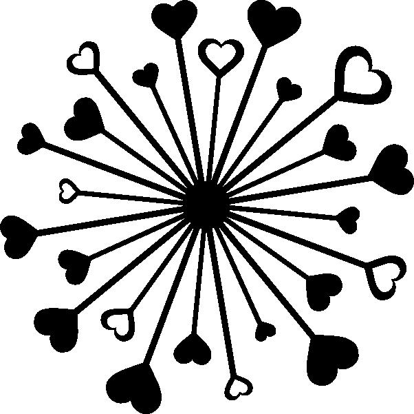 602x601 Hawaiian Luau Clip Art Black And White Clipart Panda