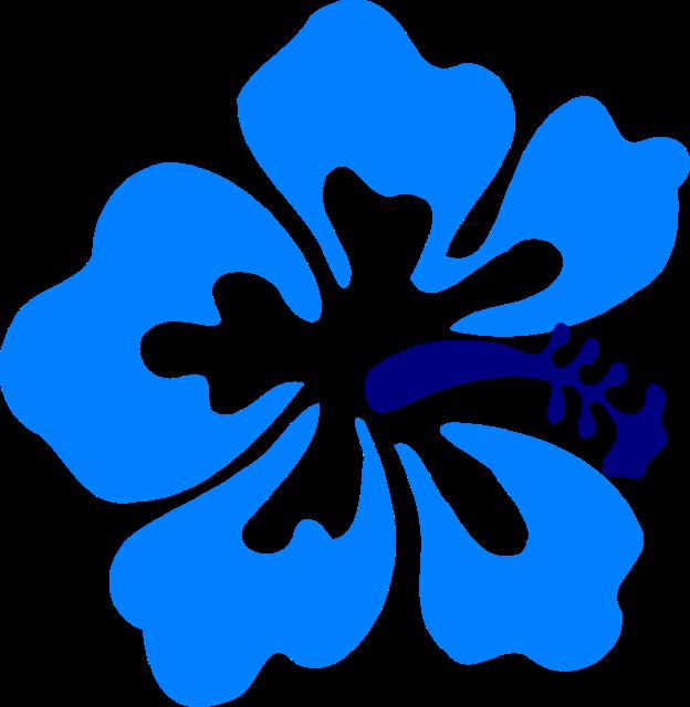 624x640 Hawaiian Flowers Clipart