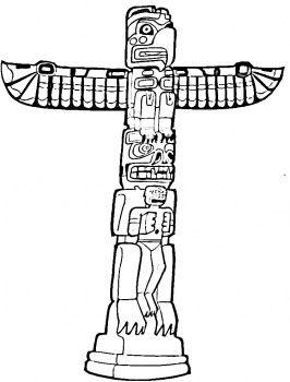 266x350 Totem Pole Clipart Luau