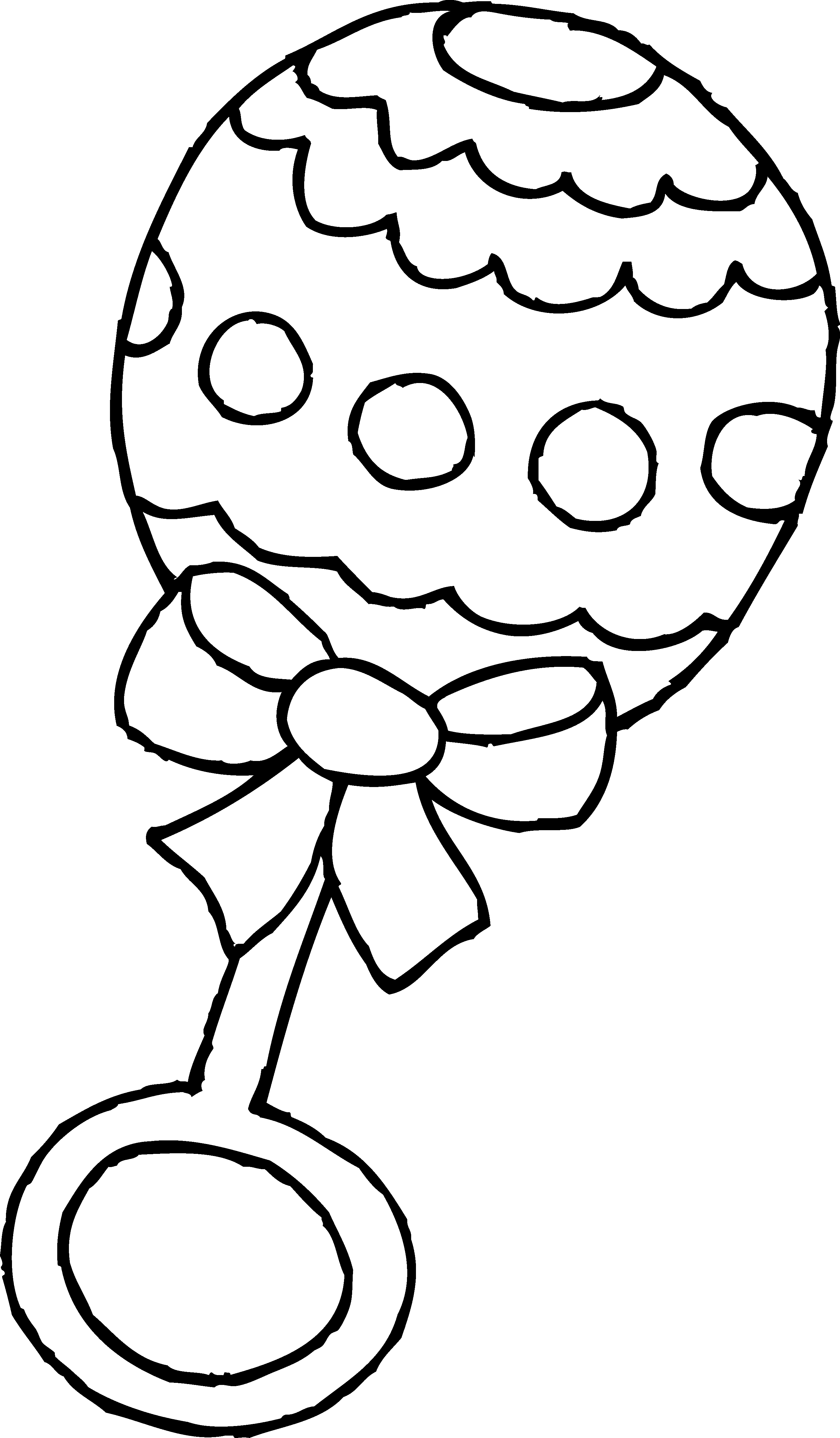 2803x4798 Baby Clipart Black And White