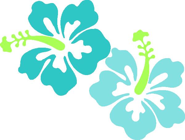 600x455 Hawaiian Flower Luau Clip Art Borders Free Clipart Images 2