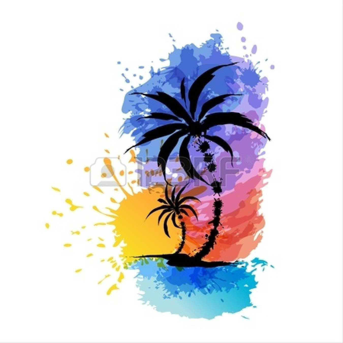 1350x1350 Luau Background Clipart