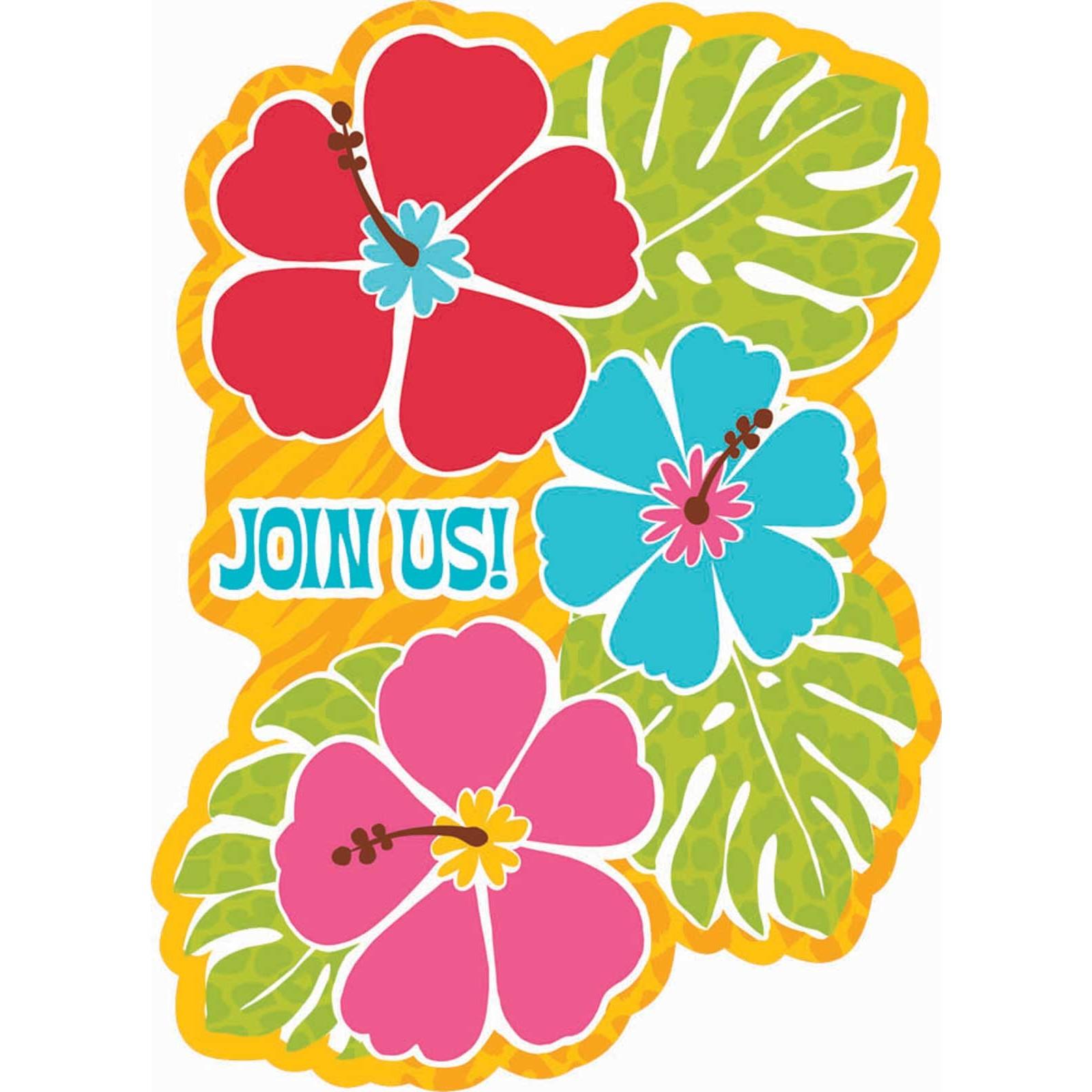 1600x1600 Clipart free hawaiian luau