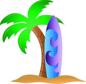 300x293 Luau Surfboard Clipart Luau Party Luau And Surfboards