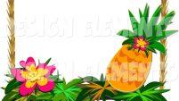 201x113 Hawaiian Clip Art Borders Free