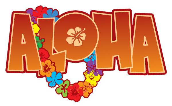 600x370 Word Clipart Aloha