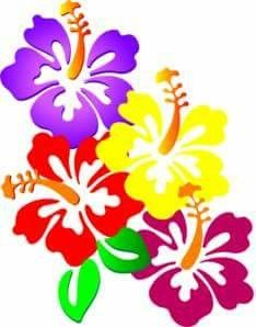 234x298 Hawaiian Hibiscus Clipart Digital Clip Art By Mareetruelove Clip