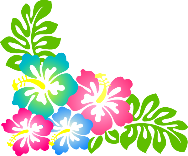 600x500 Hibiscus2 Clip Art