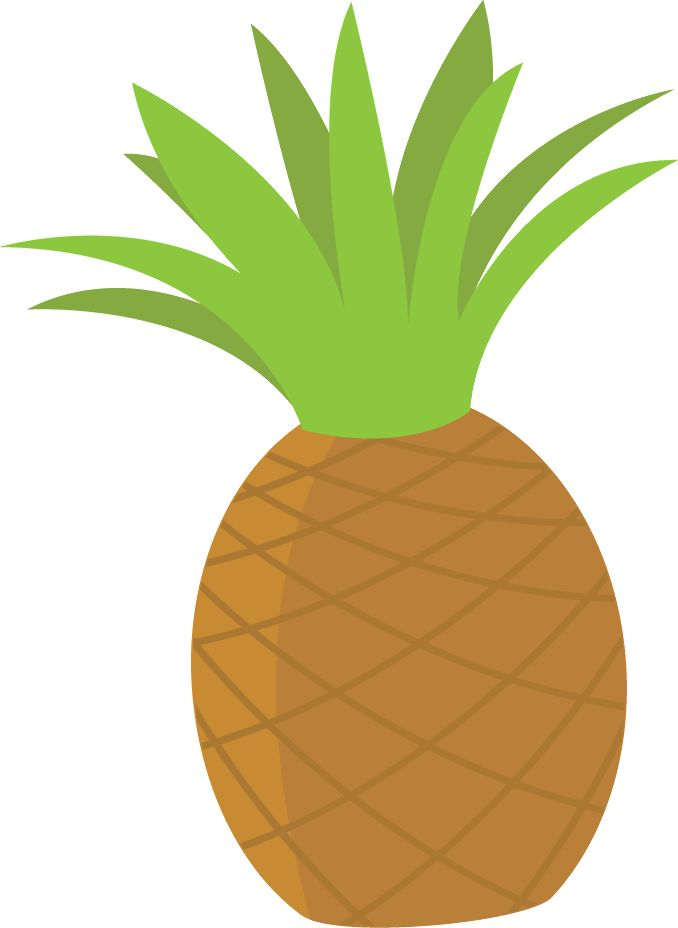 678x928 Pineapple Clipart Luau