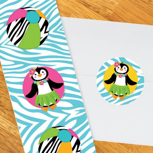 500x500 Little Penguin Luau Party Supplies