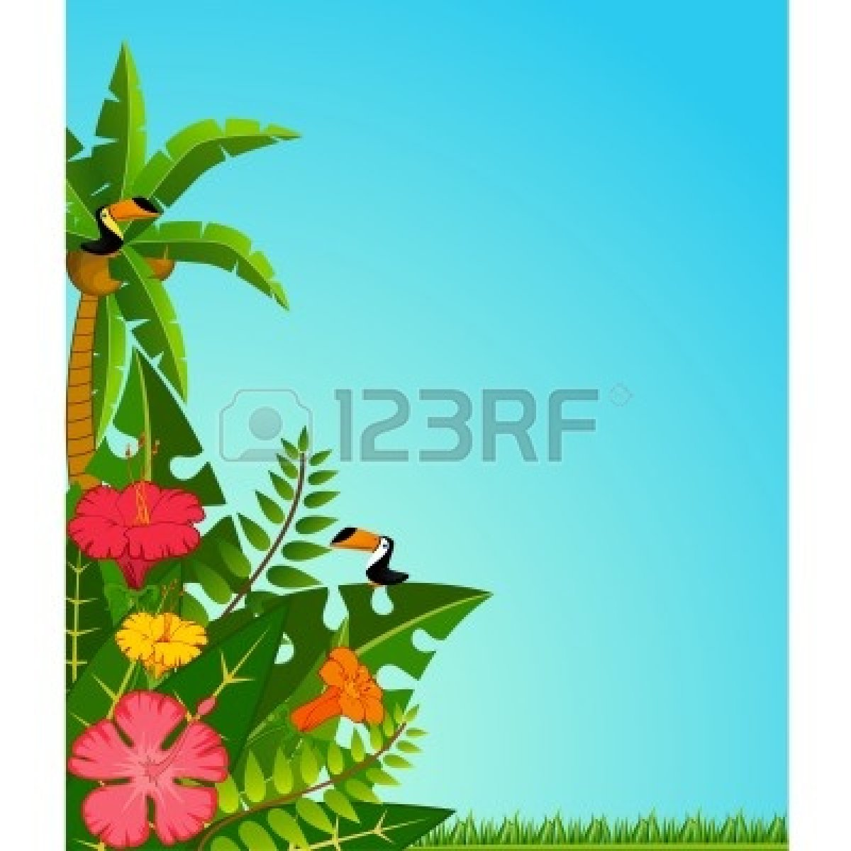 1200x1200 Luau Background Clipart