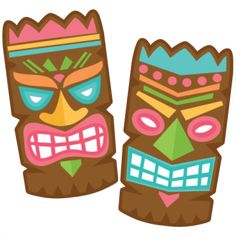236x236 Tiki Mask Out Of A Paper Bag Cut Out Eyes So Kids Can Use Them