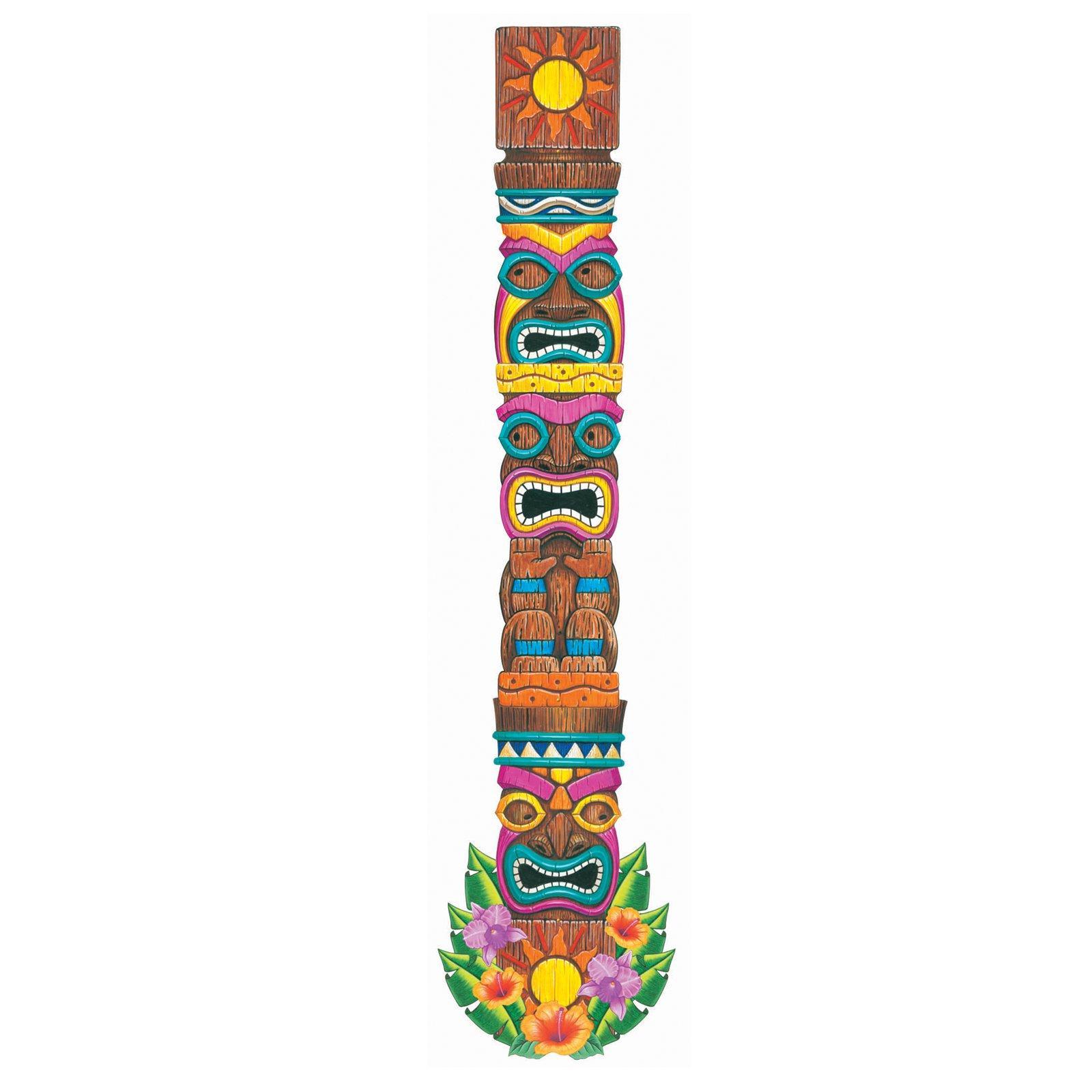 1600x1600 Totem Pole Clipart Luau