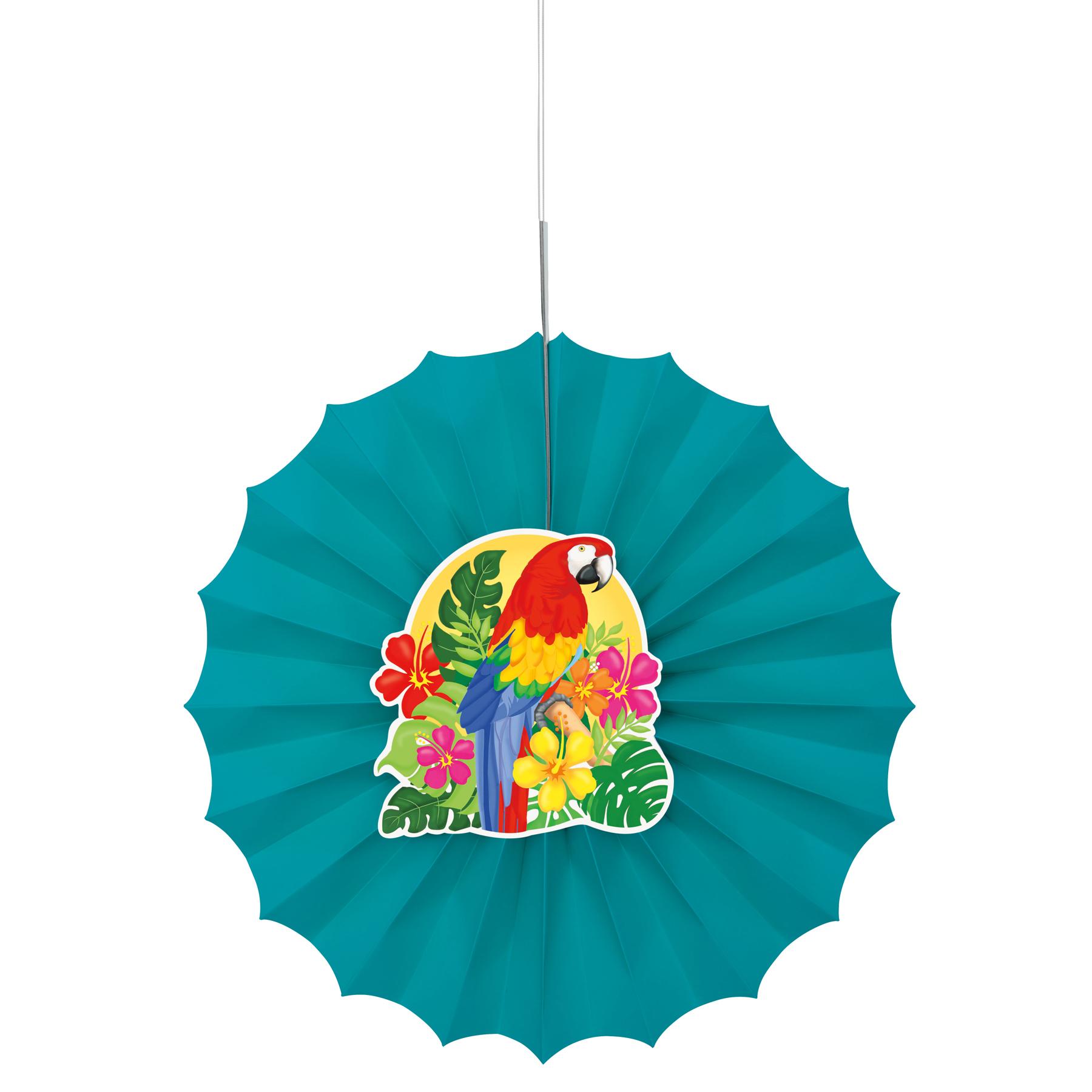 1800x1800 Tropical Island Luau Paper Fans Luau Party Decorations