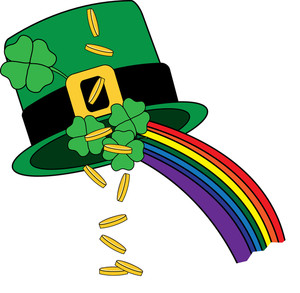 300x293 Ireland Clipart Lucky