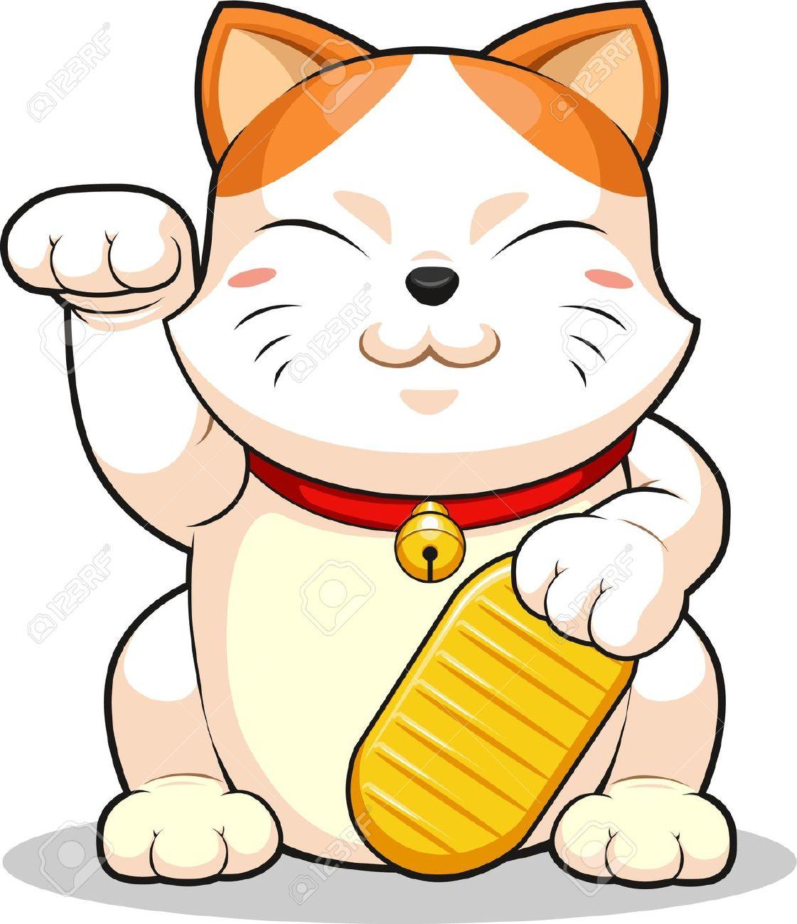 1121x1300 Lucky Cat Clipart