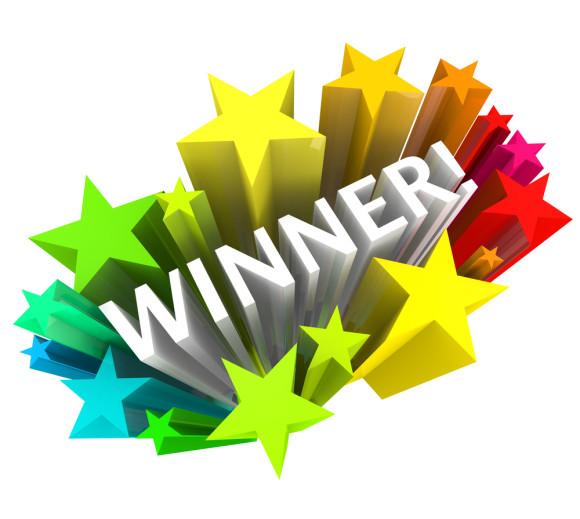 580x519 Lucky Winner Clipart Image