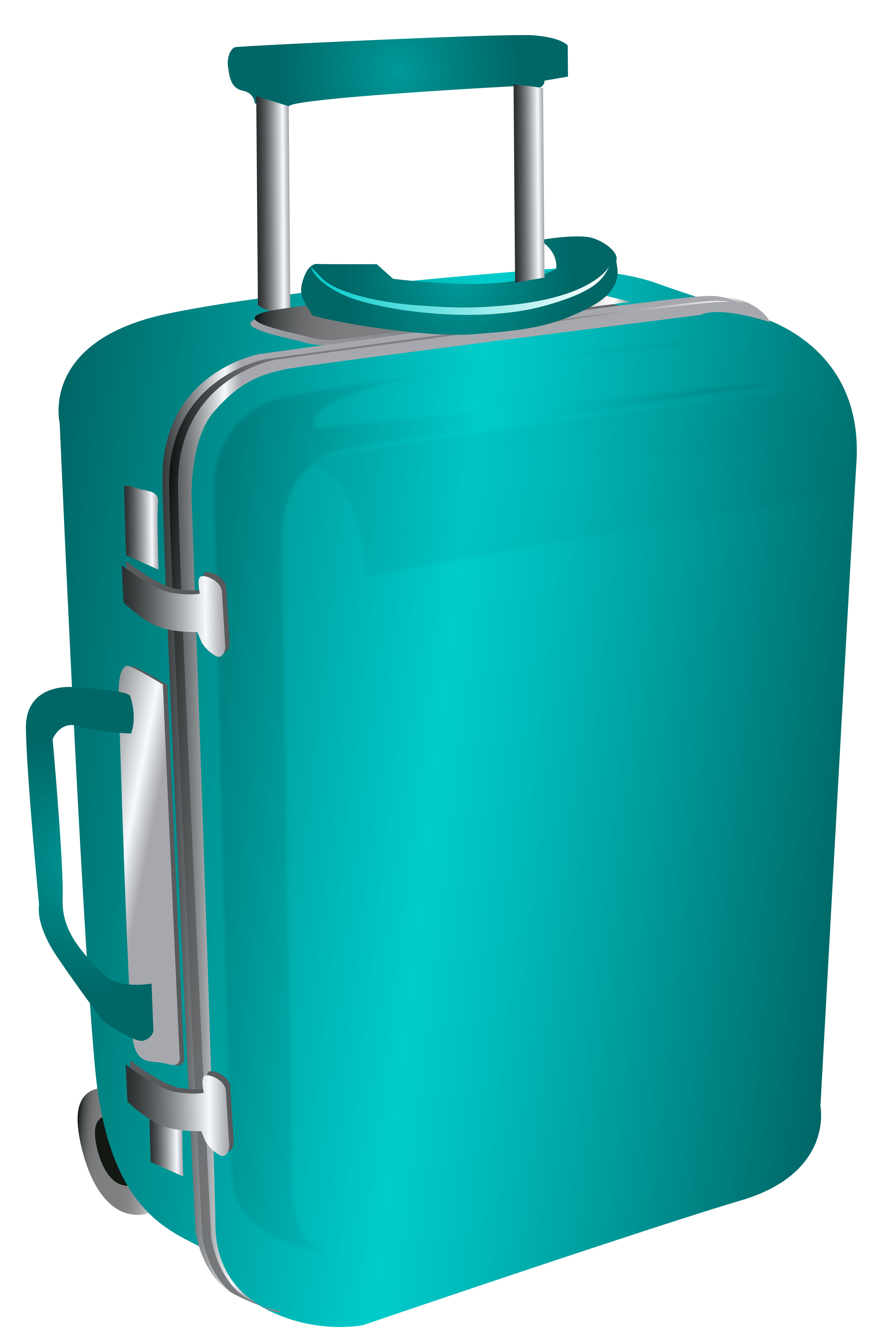 4132x6200 Bag Clipart Luggage Bag
