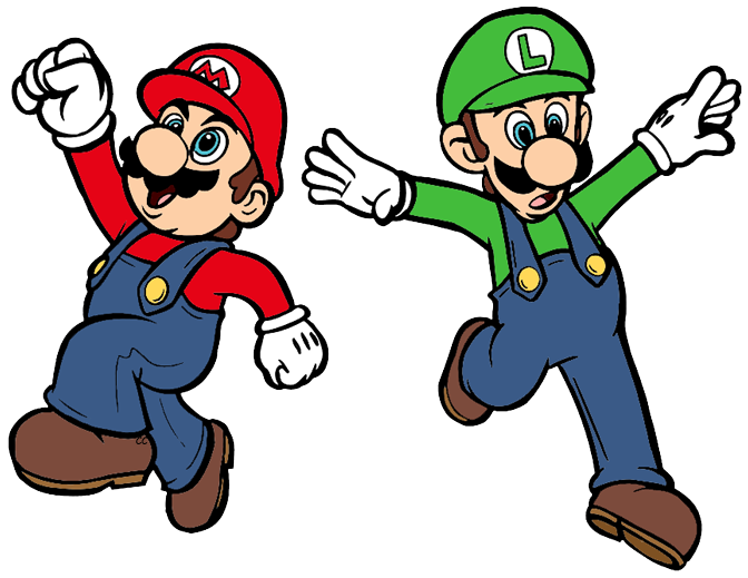 Luigi Clipart | Free download on ClipArtMag
