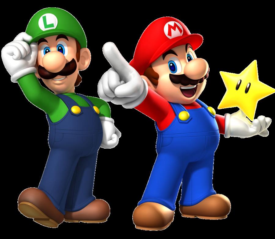 Mario luigi. Collection of clipart free