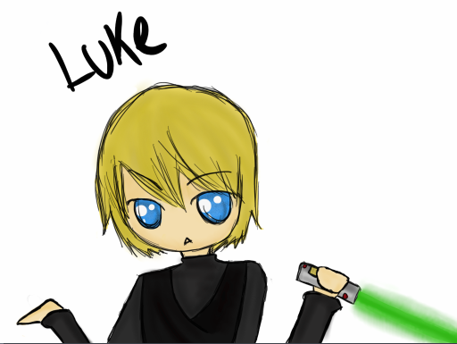 512x385 Luke Skywalker Clipart Chibi