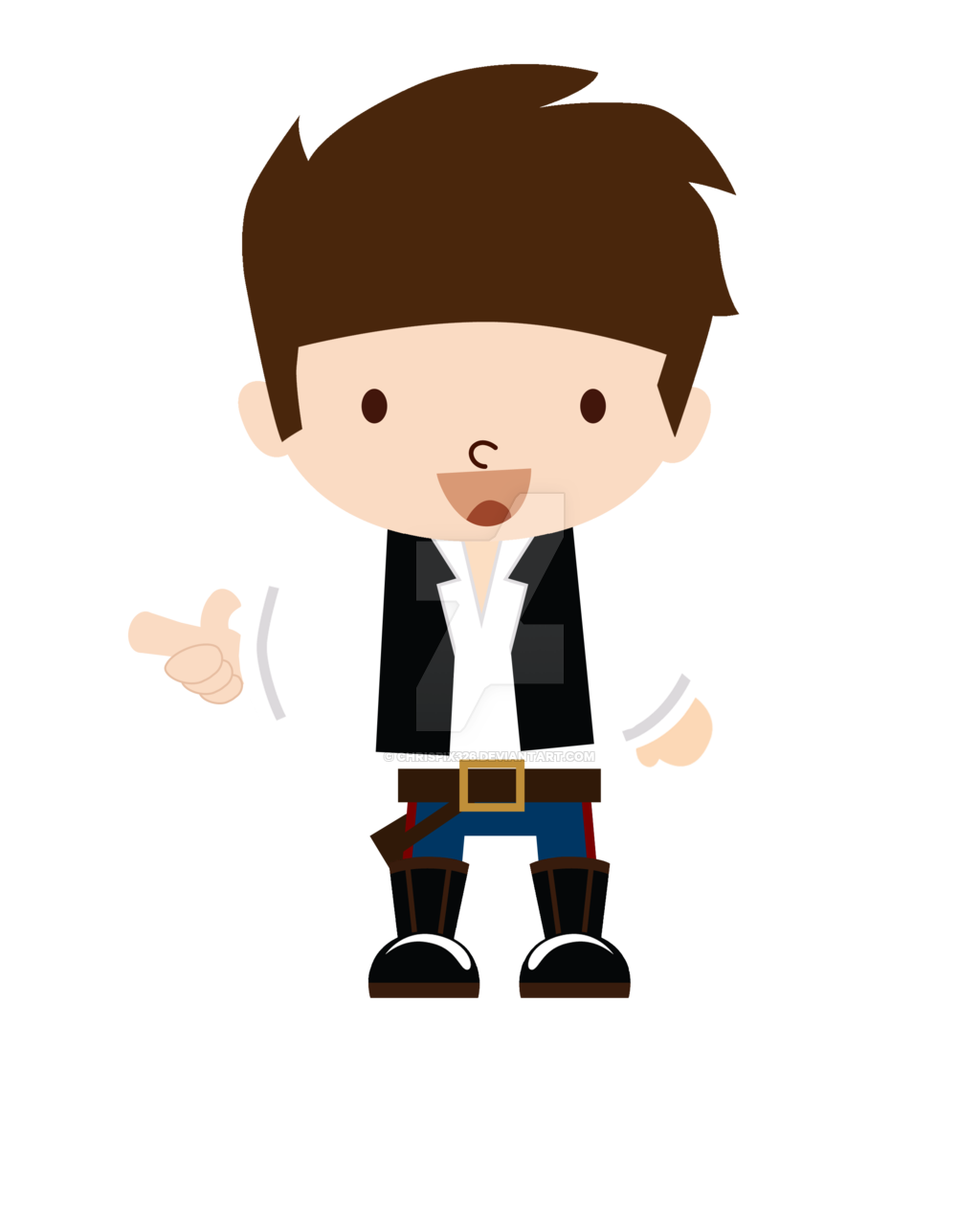1024x1280 Luke Skywalker Clipart Han Solo