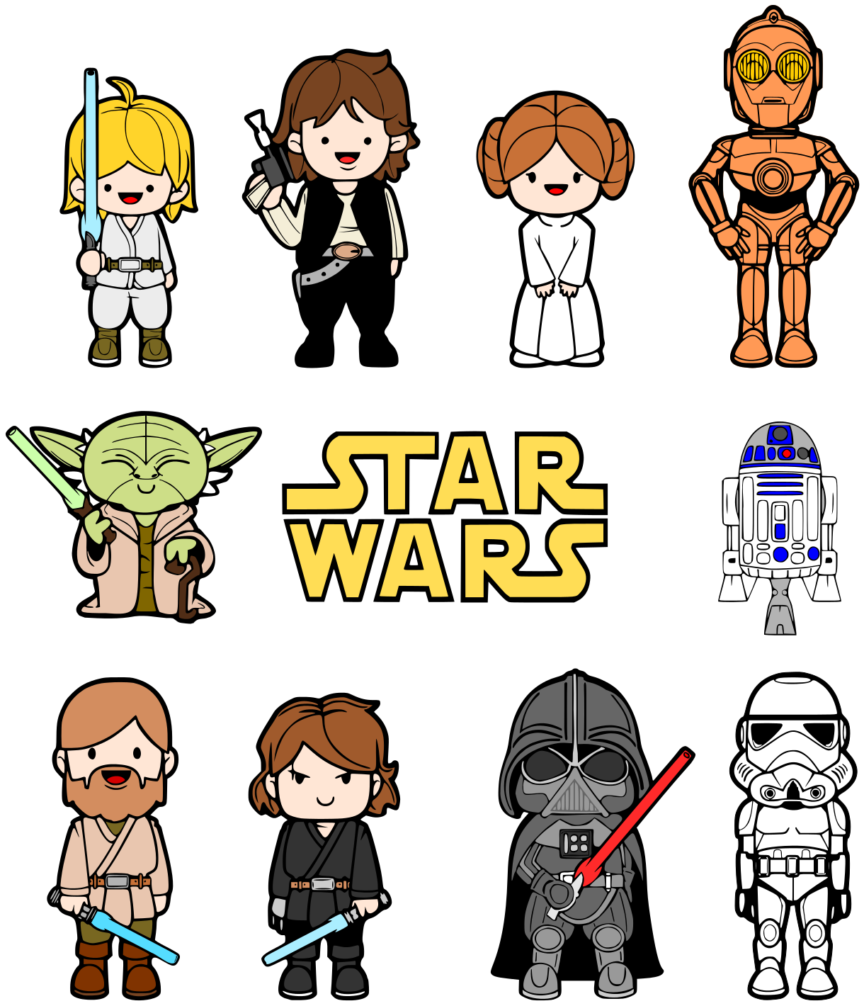 1220x1420 This Is Best Star Wars Clip Art
