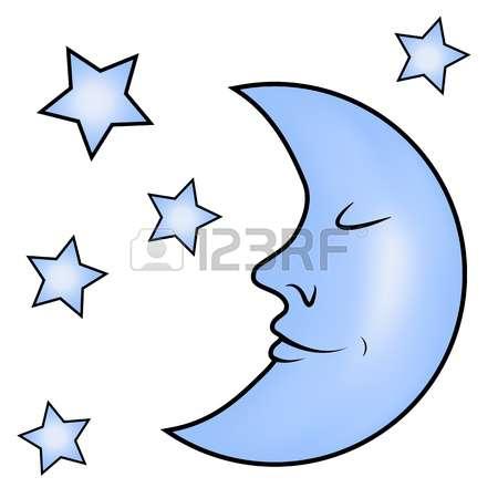 450x450 Lunar Clipart Blue Moon