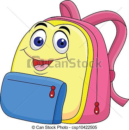 450x456 Clipart Of Bag